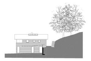Neubau Projekt Dirauf Skizze