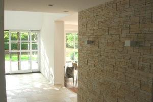 Neubau Projekt Fent Wand