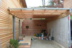 Neubau Projekt Dirauf Garage und Hof