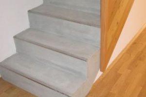 Neubau Projekt Burgstaller Treppe