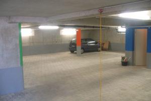 Neubau Projekt Burgstaller Tiefgarage