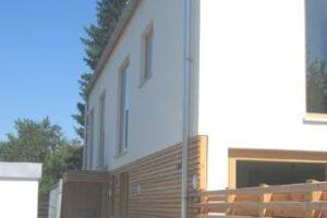 Neubau Projekt Burgstaller Seiteneingang